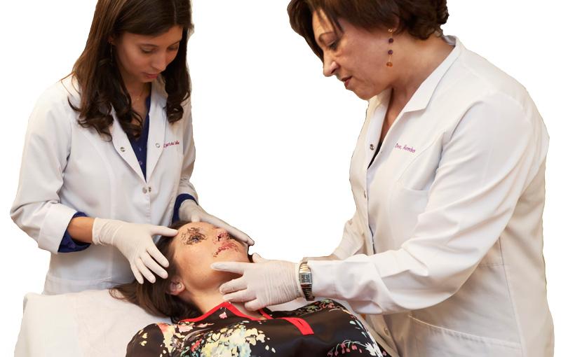Tratamiento facial infiltración